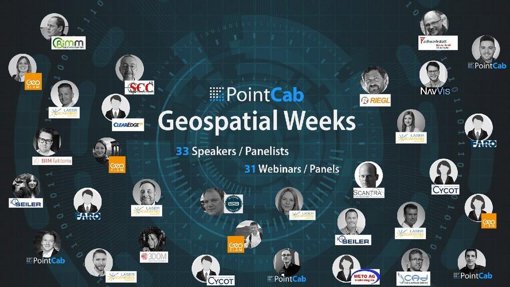 PointCab Geospatial Weeks (Webinar   Online)