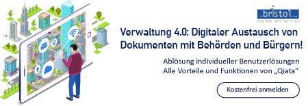 Verwaltung 4.0: Digitaler Austausch von Dokumenten mit Behörden und Bürgern! (Webinar   Online)