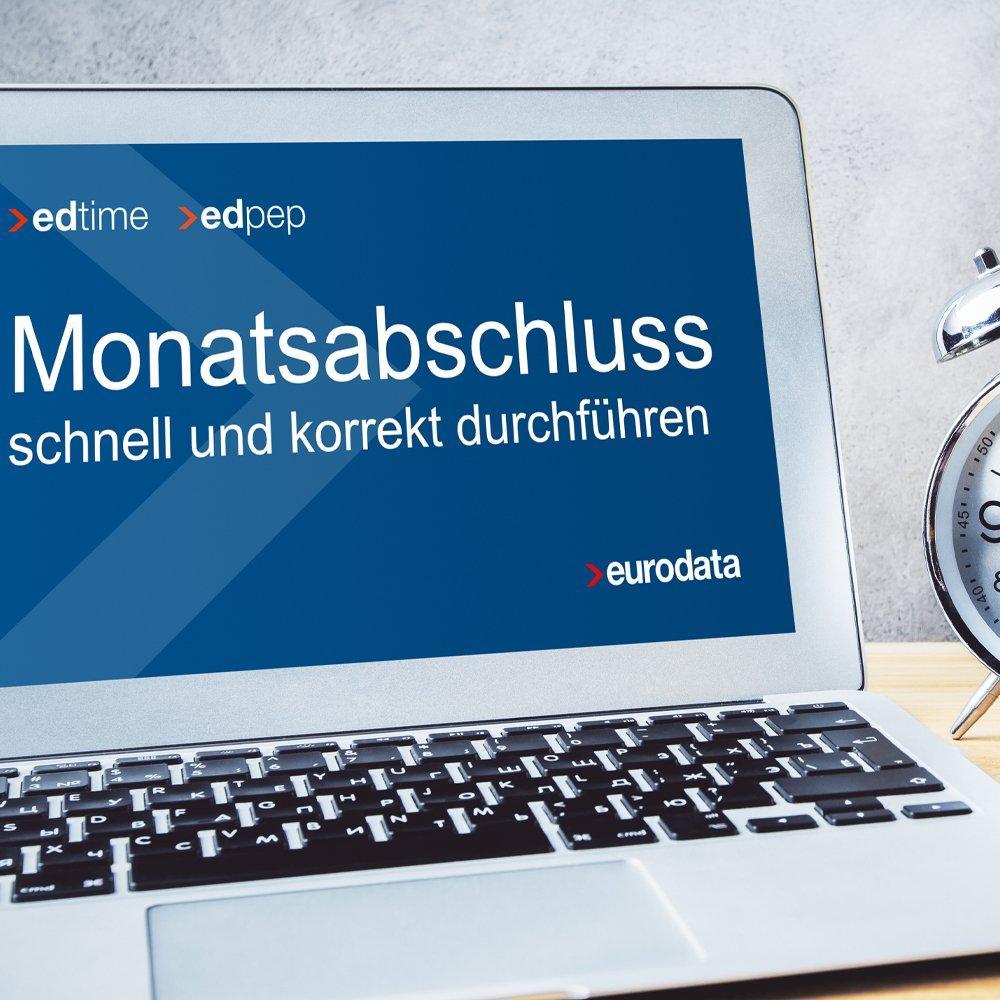 Monatsabschluss schnell und korrekt durchführen – für edpep und edtime Anwender (Webinar | Online)