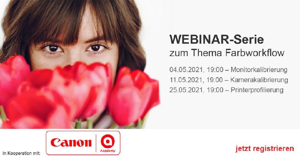 Webinar-Serie in Kooperation mit der Canon Academy: Monitorkalibrierung (Webinar   Online)