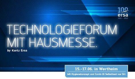 Ersa Technologieforum mit Hausmesse (Kongress | Wertheim)