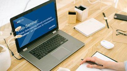 Online Zeiterfassung schnell und einfach mit edtime – ein Überblick für Interessenten (Webinar   Online)