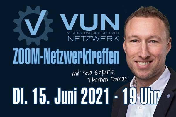 Exklusiver Impuls-Vortrag für das Vereins- und Unternehmernetzwerk VUN am 15.06.2021 (Vortrag | Online)