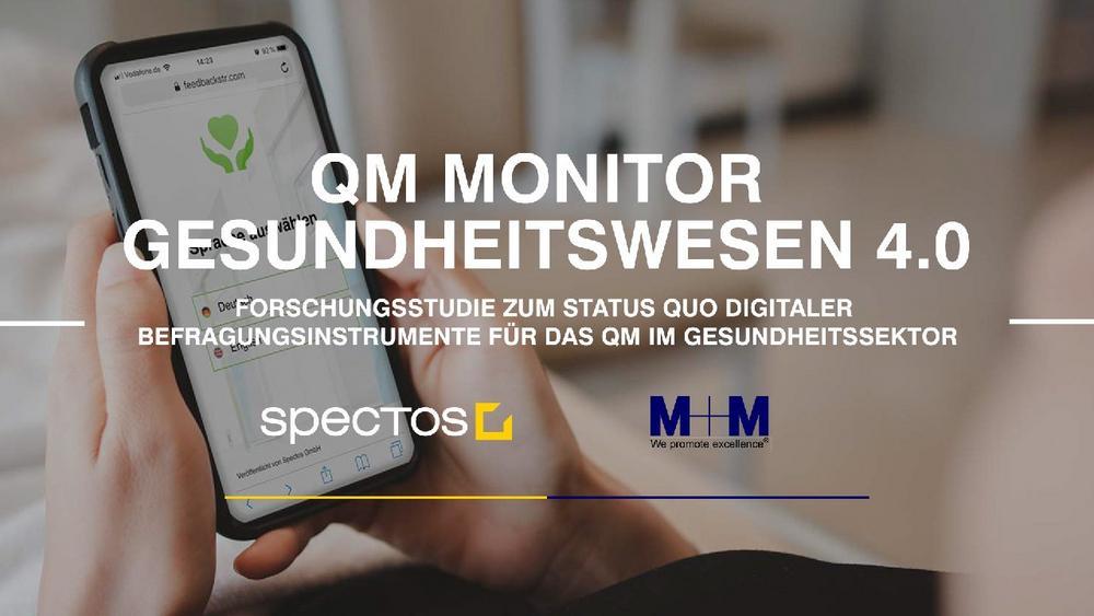 QM Monitor Gesundheitswesen 4.0: Auswertung der Forschungsstudie (Webinar   Online)