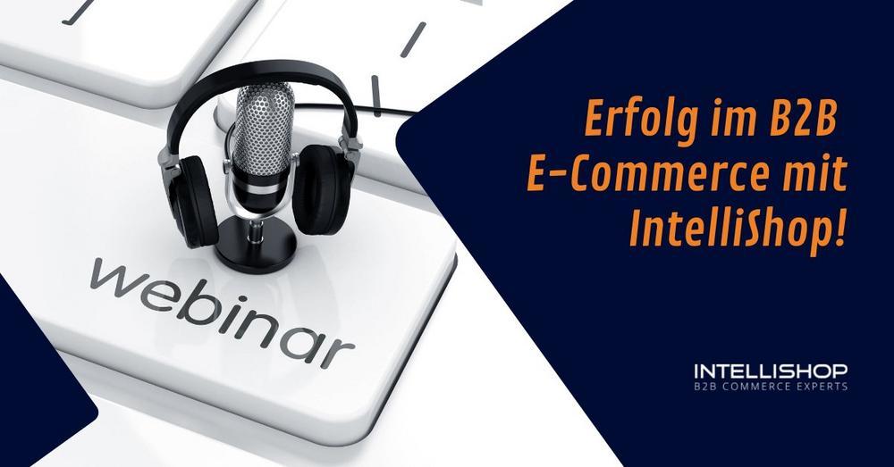 Erfolg im B2B E-Commerce mit IntelliShop! (Webinar   Online)