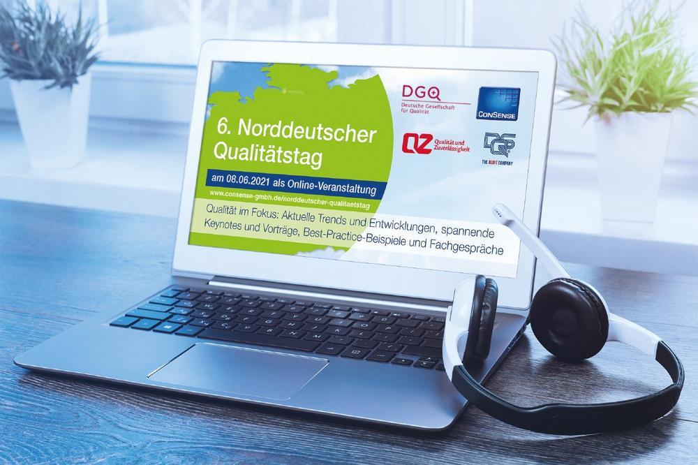6. Norddeutscher Qualitätstag am 8. Juni 2021: Praxisforum für das Prozess- und Qualitätsmanagement (Webinar   Online)