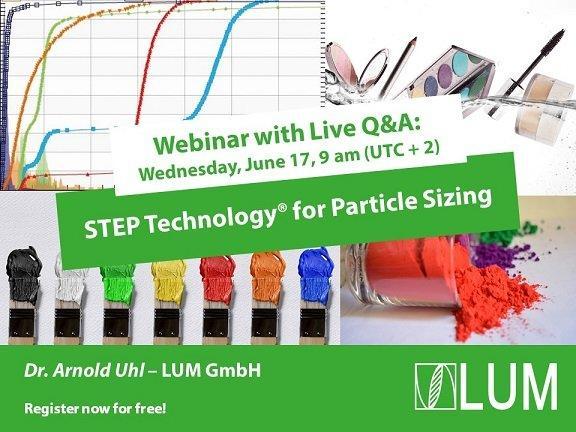 Webinar: STEP Technology® for Particle Sizing (Webinar   Online)