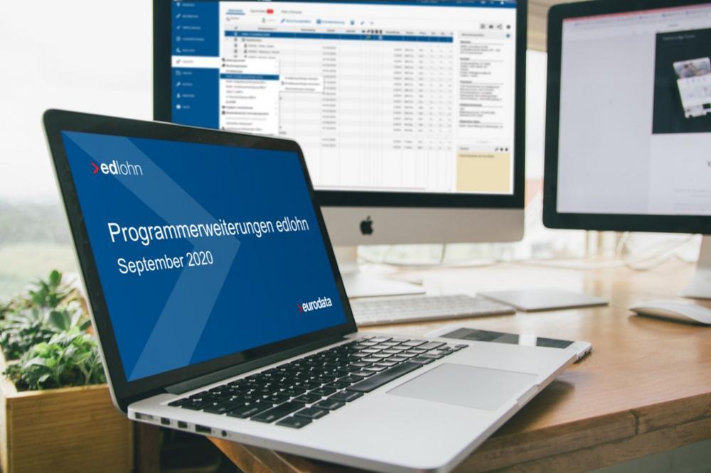 Programmerweiterungen in edlohn – Lernen Sie die neuen Funktionen kennen (Webinar   Online)