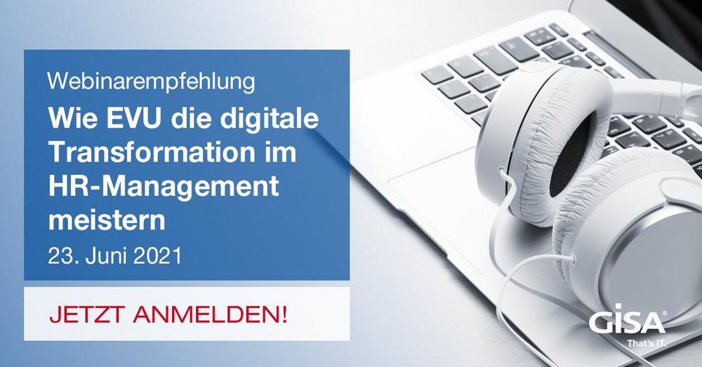Best Practices: So stellen Versorger ihr HR-Management digital auf (Webinar   Online)