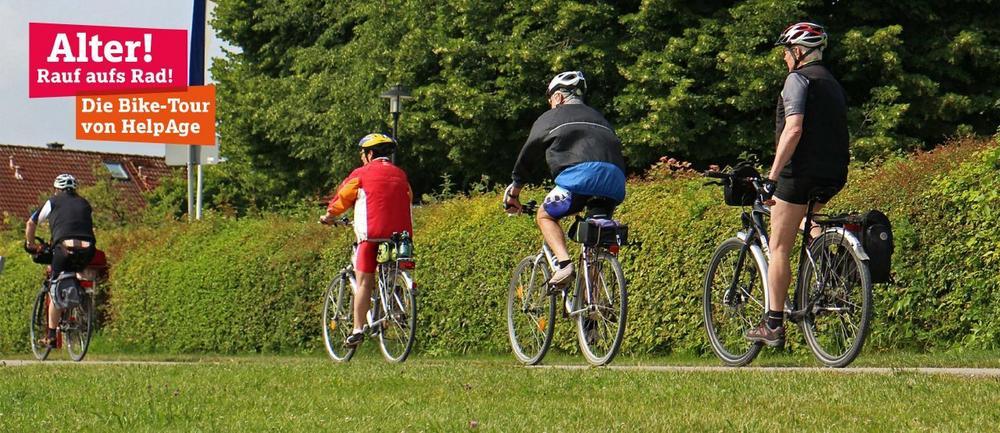 Alter! Rauf aufs Rad! Die Bike-Tour von HelpAge (Sonstige Veranstaltung   Osnabrück)