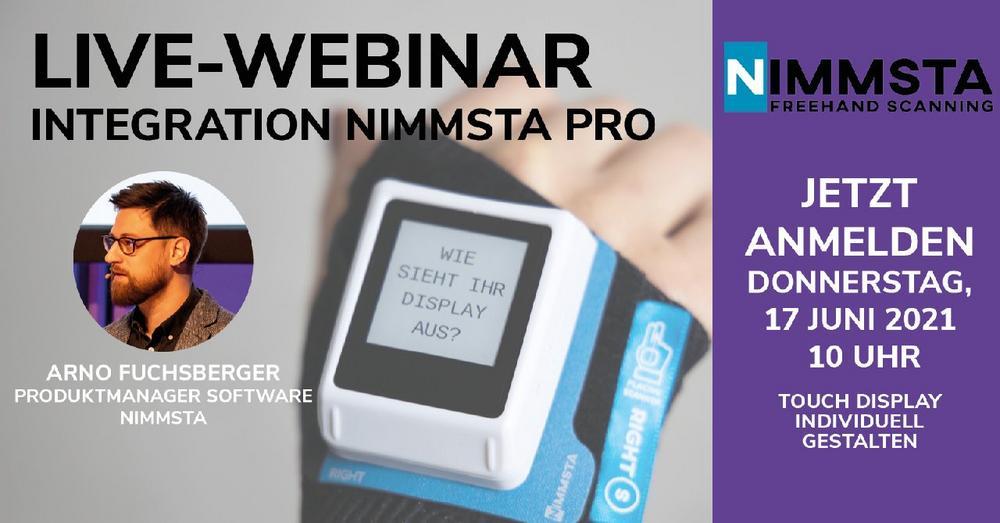 WEBINAR NIMMSTA PRO: Integration (Webinar   Online)
