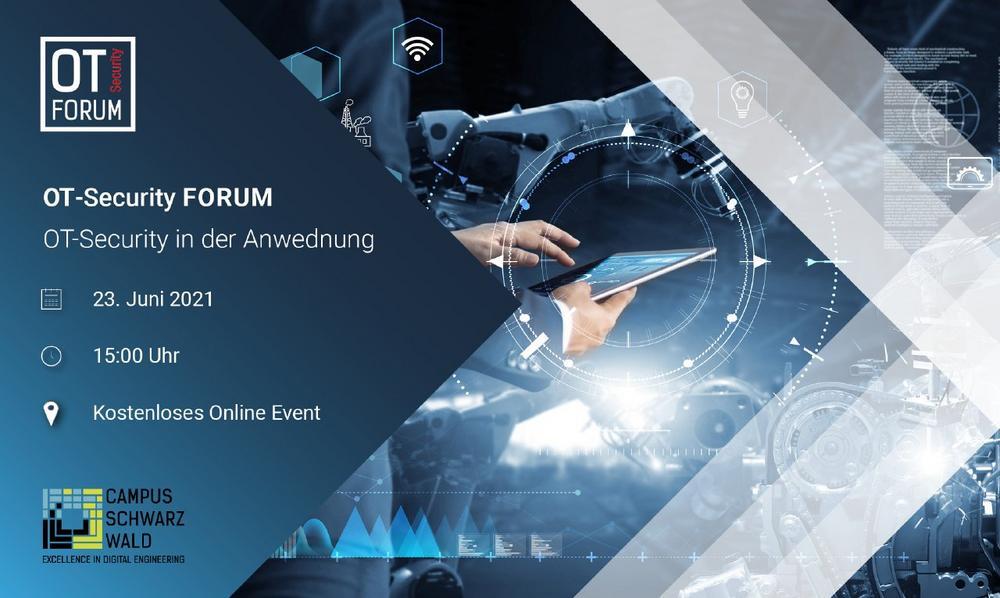 OT-Security Forum – OT-Security in der Anwendung (Vortrag   Online)