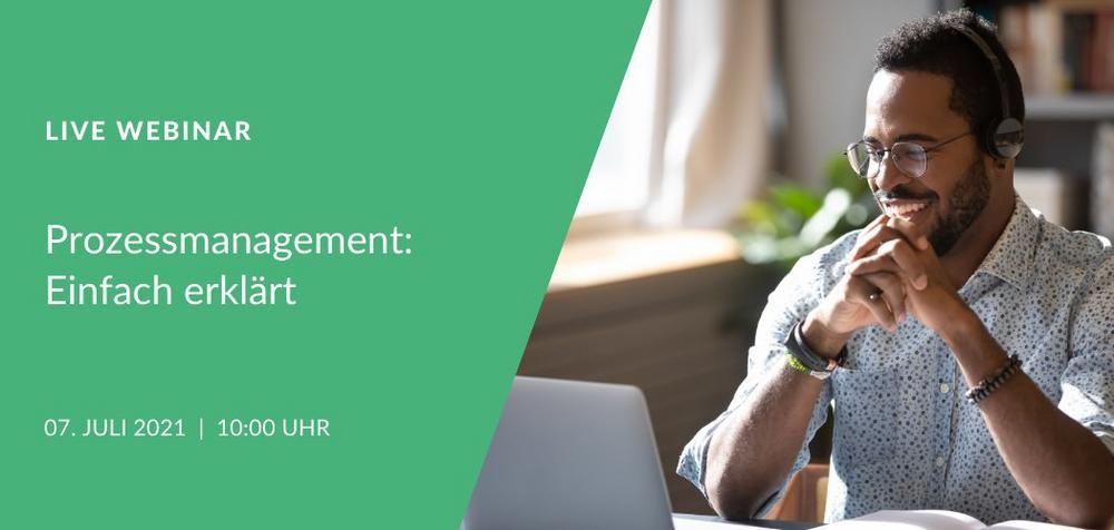 Live Webinar: Prozessmanagement einfach erklärt (Webinar   Online)