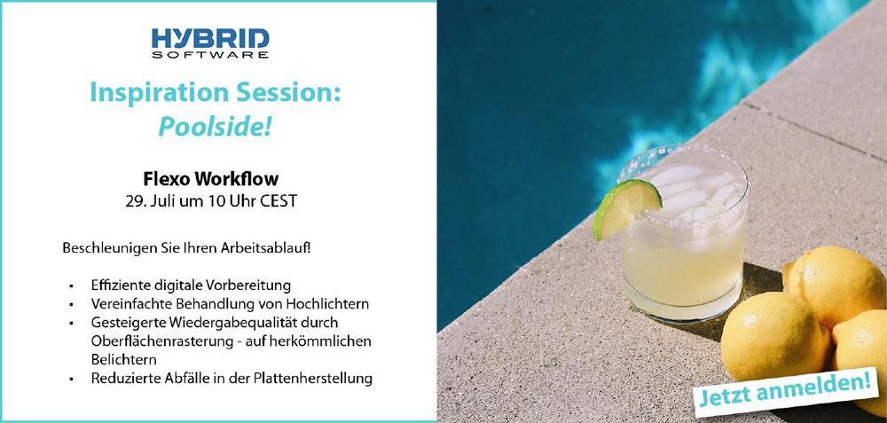 Poolside Inspiration Session: Flexo Workflow (Deutsch) (Webinar   Online)