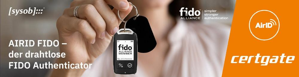 AirID FIDO – der drahtlose FIDO Authenticator (Webinar | Online)