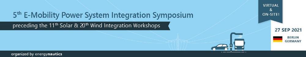 5th E-Mobility Power System Integration Symposium (Konferenz | Online)