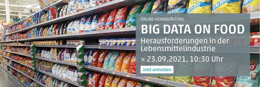 Big Data on Food (Vortrag | Online)