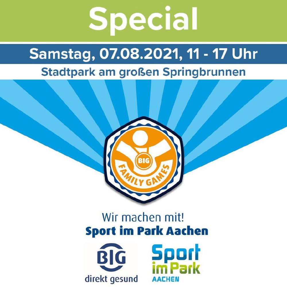 BIG Family Games bei Sport im Park Aachen (Unterhaltung / Freizeit   Aachen)