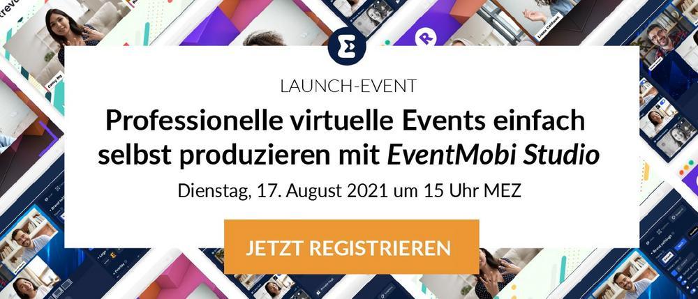 Professionelle virtuelle Events einfach selbst produzieren mit EventMobi Studio (Webinar   Online)
