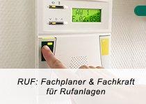 RUF: Fachplaner und Fachkraft für Rufanlagen nach DIN VDE 0834 (Schulung | Fulda)