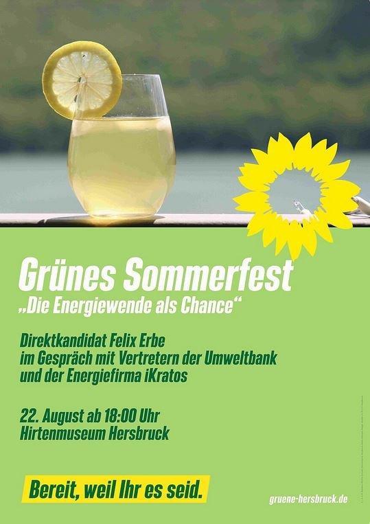 """iKratos zu Gast bei """"Grünes Sommerfest Hersbruck"""" (Vortrag   Hersbruck)"""