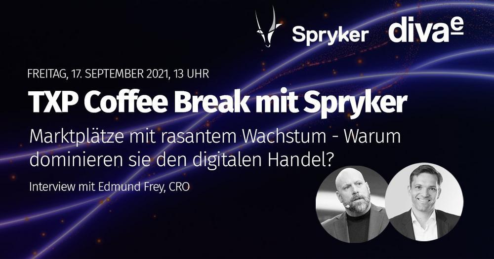 TXP Coffee Break mit Spryker – Markplätze mit rasantem Wachstum (Webinar | Online)