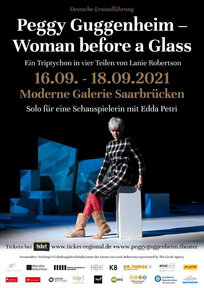 Peggy Guggenheim – Woman before a Glass (Unterhaltung / Freizeit | Saarbrücken)