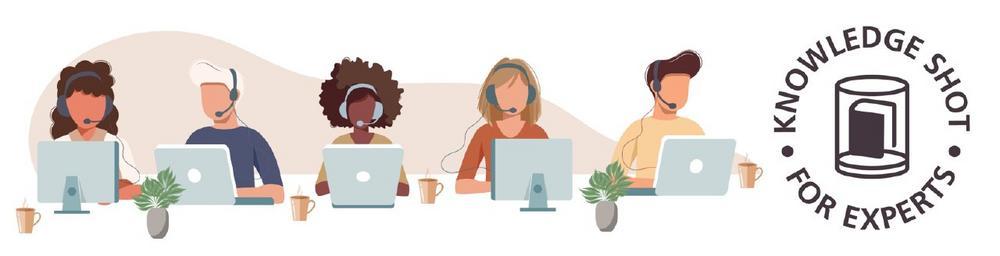 Knowledge Shot for Experts: Kundenservice optimieren mit Zoho Desk (Webinar | Online)