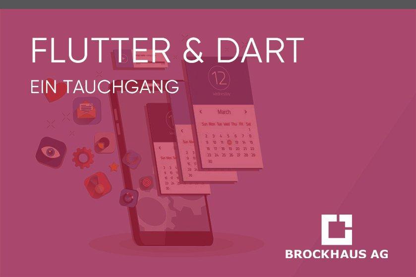Flutter & Dart: Ein Tauchgang (Webinar   Online)