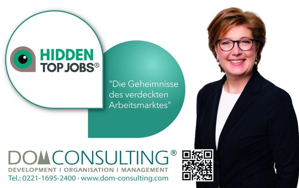 HIDDEN TOP JOBS® – die Geheimnisse des verdeckten Arbeitsmarktes (Vortrag | Köln)