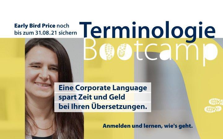 Terminologie-Bootcamp (Schulung   Online)