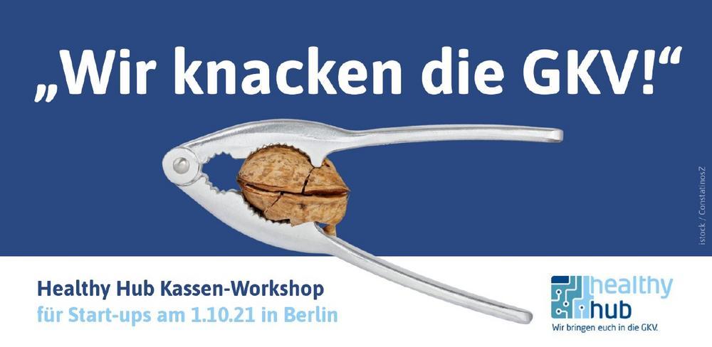 Gamechanger zugunsten digitaler Gesundheit gesucht: Krankenkassenworkshop für Start-ups in Berlin (Workshop   Berlin)