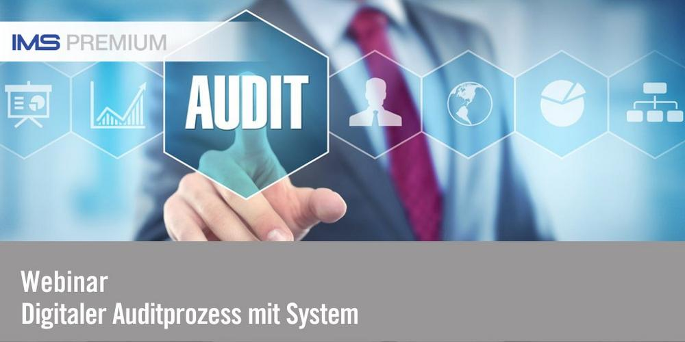 Digitaler Auditprozess mit System (Webinar | Online)