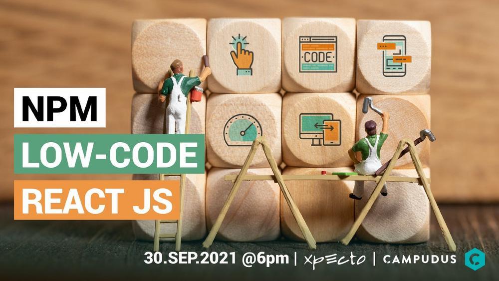 7. Tech Talk Landshut: Modulare Low-Code-Plattform mit React, TypeScript & npm (Networking | Landshut)